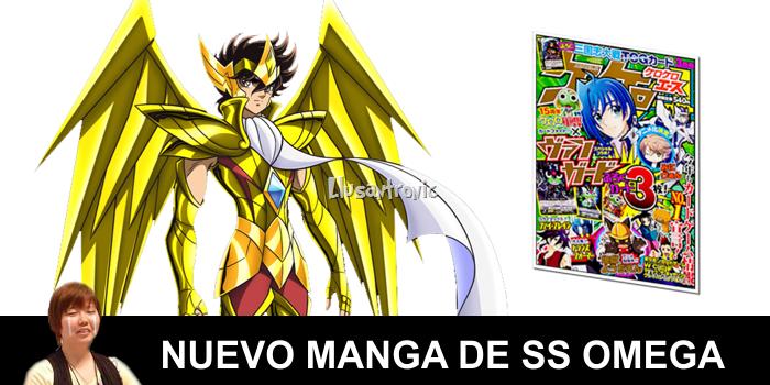 Se reafirma Nueva Temporada de SS Omega, además… un ¡¡¡NUEVO MANGA!!!