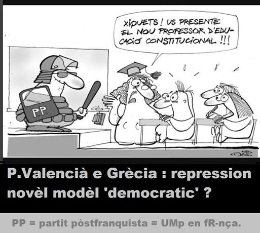 repression en P.Valencià