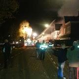 Uitslaande woningbrand J. Oldenburgerstraat E12 Nieuwe Pekela - Foto's Danny Middel en Damon Koning