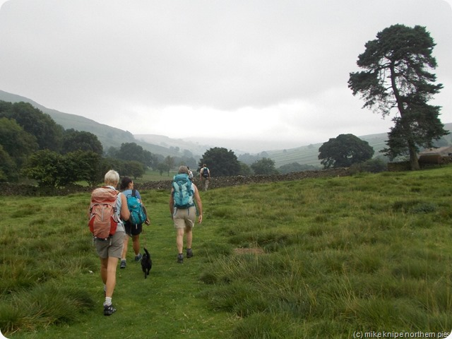 heading off up the dale