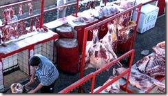 バザールの肉屋