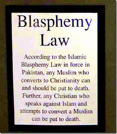 blasphemy-law Pakistan