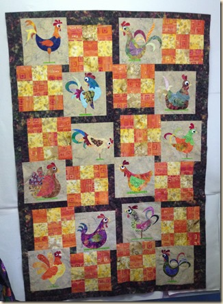chickens n 1st border