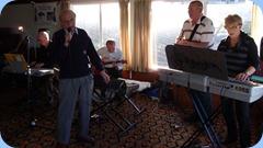 Peter Brophy, Gordon France (singing), Brian Gunson, Kevin Johnston, Jan Johnston jamming