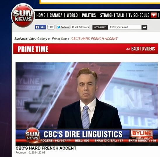 accent anglés a la television CBC