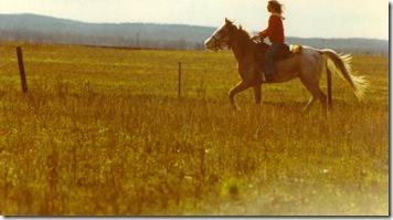 Leah & CurlyJo in field