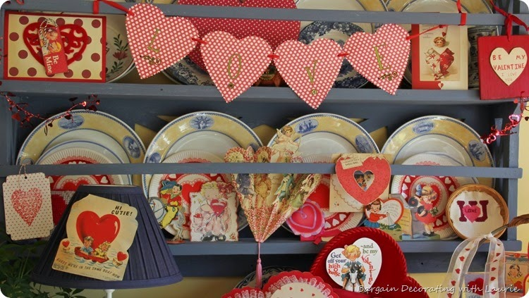 Vintage Valentine Display 3