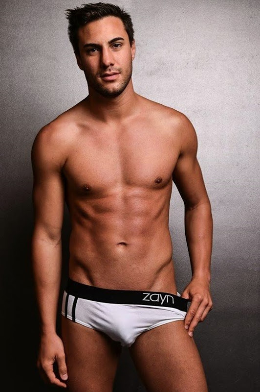 Sexy Guy in zayn briefs by Alex Mansour