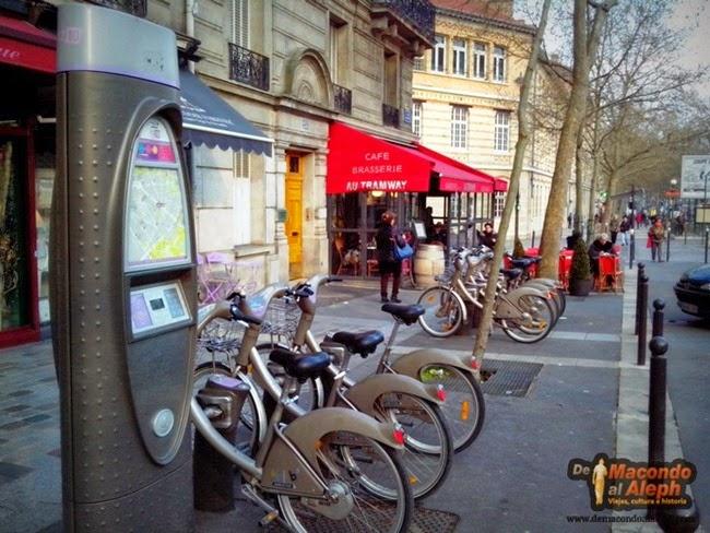 Paris en Bici Velib 3