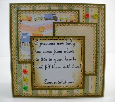 Baby Boy and Block Card1