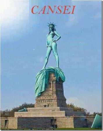 face estatua