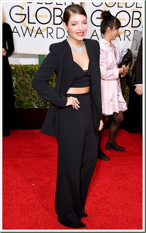 lorde at golden globe
