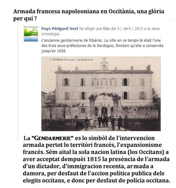 Gendarmes franceses en Occitània