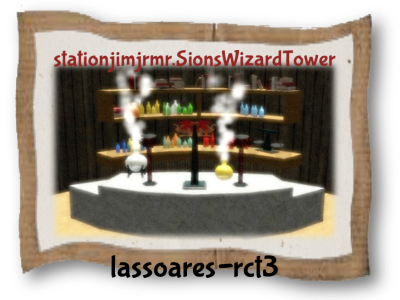 stationjimjrmr.SionsWizardTower (stationjimjr e mr.Sions) lassoares-rct3