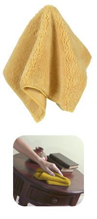 This microfiber dusting rag is going to be a big help for your moving friends. It's extra thick and can even be used with water. (casabella.com)