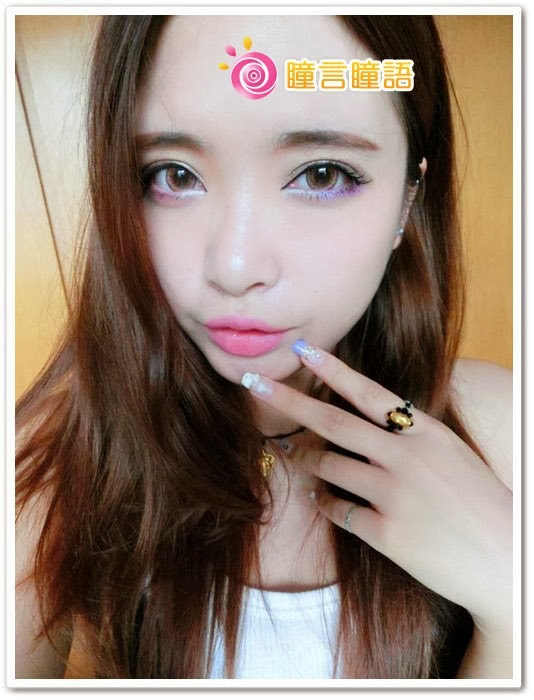 日本ROYAL VISION隱形眼鏡-蜜桃甜心粉紅15