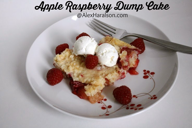 Apple Raspberry Dump Cake11