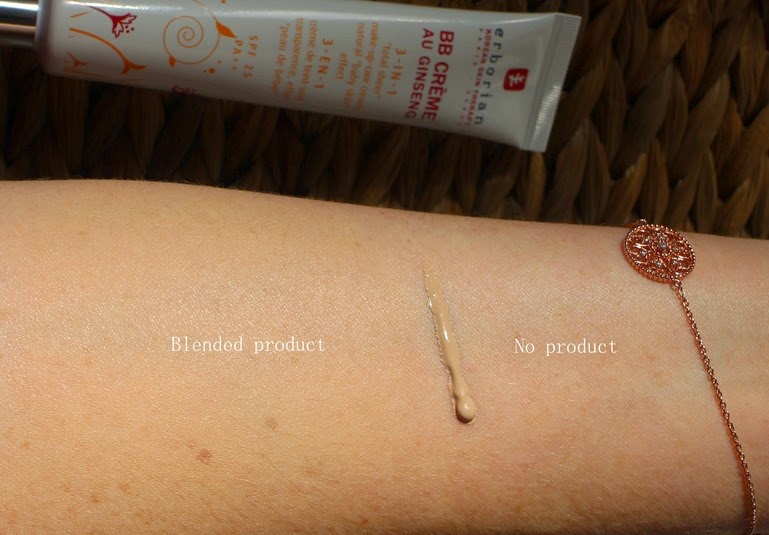 Erborian-BB-Creme-Cream-Clair-swatch-lightest-shade-review-photos