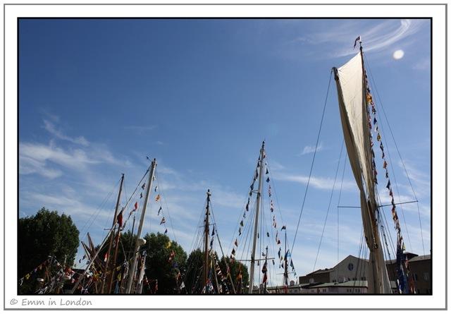 St Katharine Dock Classic Boat Festival