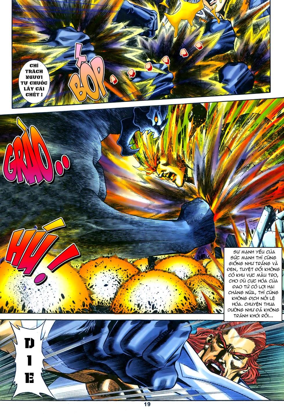 X Bạo Tộc chap 67 - Trang 19