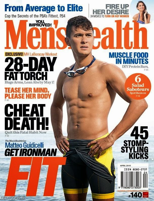 Matteo Guidicelli Men's Health Philippines