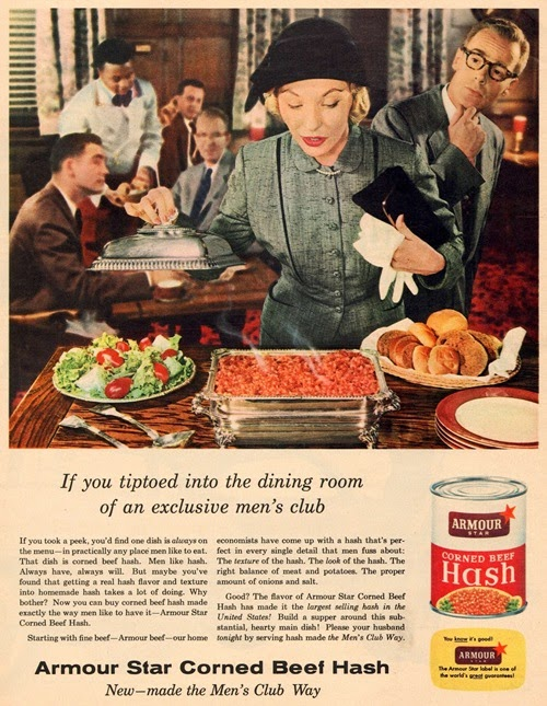 armour star corned beef ad 1955