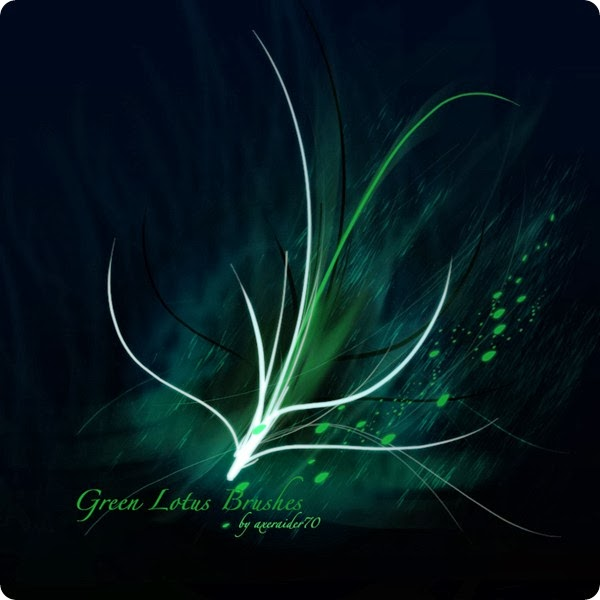 GIMP_Green_Lotus_Brushes_by_Project_GimpBC