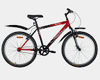 Red & White Urban Trail Bi - Urban Trail - High Performance Bikes. Your one stop to seek adventure
