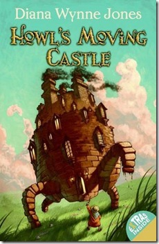 book cover of Howl's Moving Castle by Diana Wynne Jones