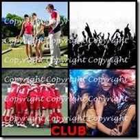 CLUB- 4 Pics 1 Word Answers 3 Letters
