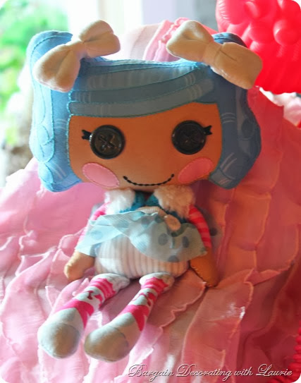 Lalaloopsy Party-Bargain Decorating with Laurie