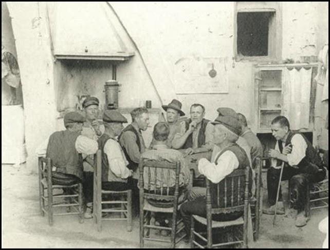 partida de domino - 1920