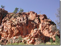 Rock formation near Arkaroola in South Australia