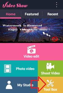 เปลี่ยนไฟล์วีดีโอเป็น mp3 ใน android