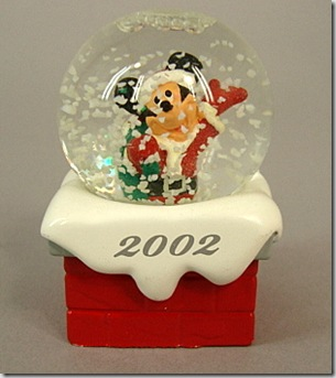 Mickey Mouse- Holiday- Christmas- Globe- 2
