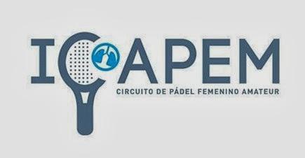 Circuito de Pádel Solidario Femenino Amateur ICAPEM  a beneficio de la investigación del cáncer de pulmón en mujeres.