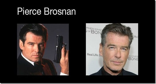 James Bond antes e depois (5)