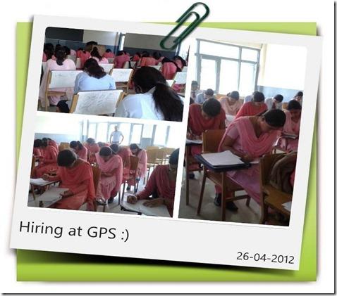 Hiring Process at Government Polytechnic Sundernagar