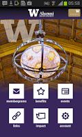 Screenshot of UW Alumni Association
