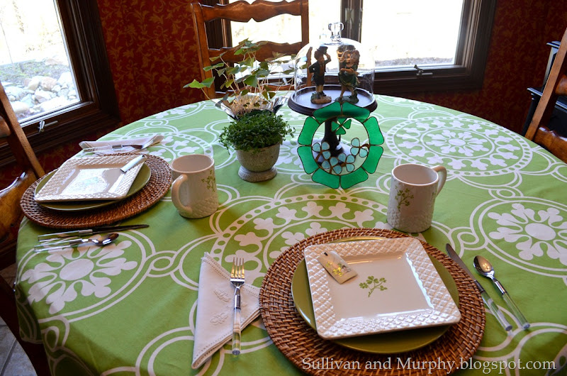 st paddy's table