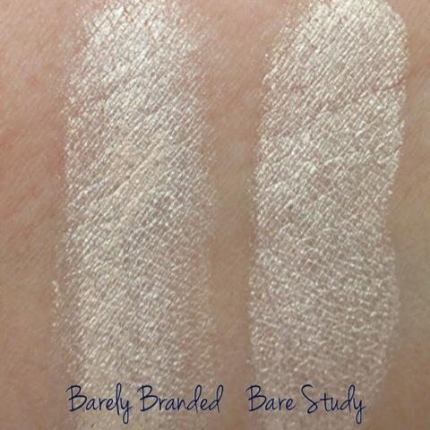 Barely branded vs bare study