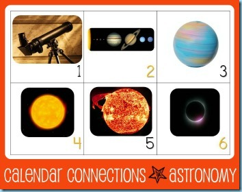 Calendar Connections Outer Space