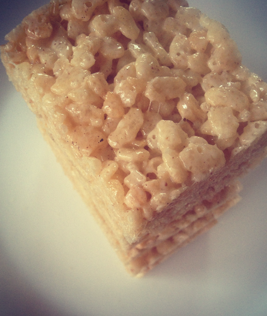 Salted Brown Butter Rice Krispie Treats