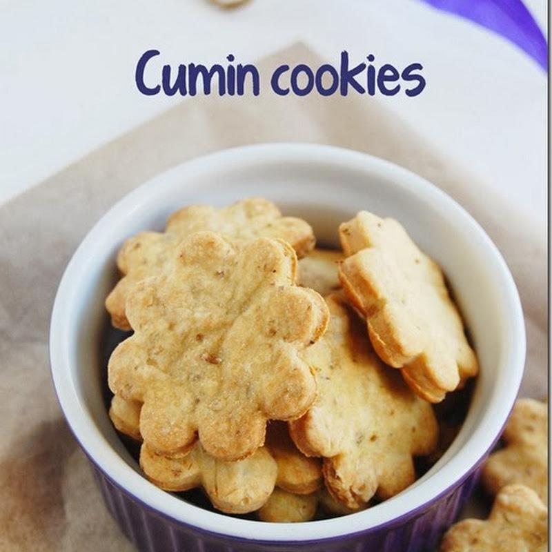 Salted cumin cookies / Savory cookies