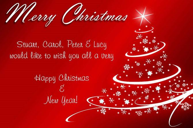 christmas xmas cards 2013