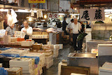 The intermediate wholesalers area of Tsukiji (it's abut the size of a football field)