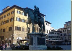 Statue of Cosmo de Medici (Small)