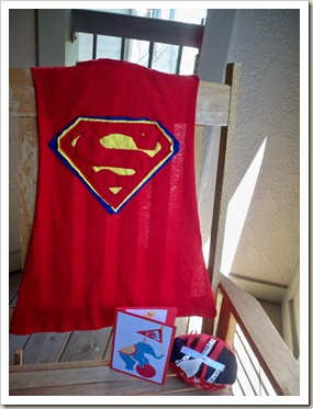 Superman Cape Tutorial
