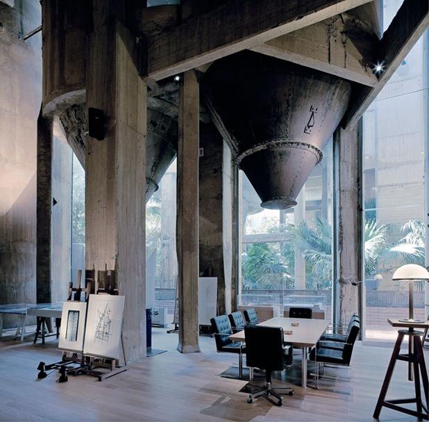 cement factory loft