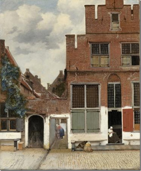 La stradina, 1658 ca. - Rijksmuseum, Amsterdam